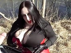 Biz Diva Gargling Outdoor - Cum In Her Face