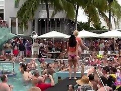 Naked Pool Sluts Key West Fantasy Fest Rnd2