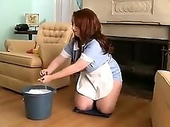 chubby maid for super hot sex