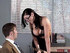 Hot for Big Tit Professor