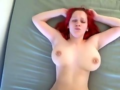 Orgasmic bouncing fun bags pummeled hard by young BF