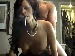 arianna smokes and fucks