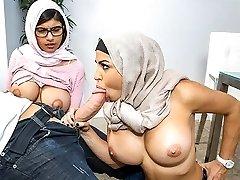 Mia Khalifa in Art imitating life. - BangBros