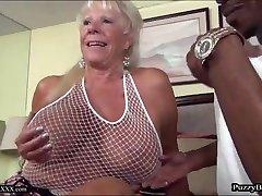 72 year elderly Grandma Craves Thick Black Cock