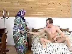 FAT Bbw Grandma MAID FUCKED HARDLY IN THE ROOM