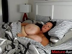 BBW Mom with huge Boobs JOI - mature-fucks