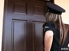 Brazzers - Large-knocker cop Courtney Cummz is fucked & punished
