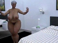 monstrous mama dance cgi
