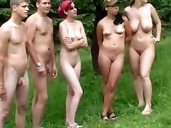 Czech nudists on my voyeur video