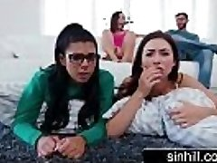 3 Hot Teenagers Share One Successful Manmeat - Melissa Moore, Abella Danger, Gina Valentina