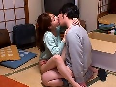 Hottest Japanese whore Akiho Yoshizawa in Horny kitchen, duo JAV sequence