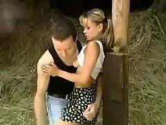 STP1 Cute Teen Gets Boinked In The Barn !