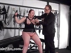 Bbw marionette RosieB breast tortured and sadistic amateur bdsm of f