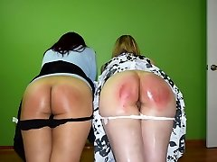 Justice is Complied: Caroline and Cheshire - (Spanking)