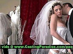 Kayla Paige glorious busty bride