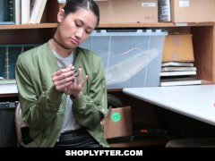 Shoplyfter - Asian Beauty Busted For Stealing