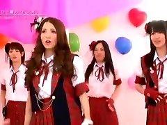 Japanese Naked Girls Band