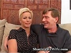 Mature Couple Recruits Bull To Ravage Wifey