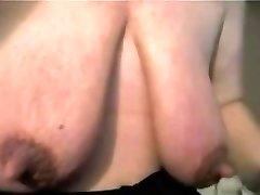Mature with gigantic clit and fat saggy tits - negrofloripa