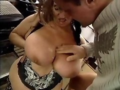 UGLY Grannie WITH HUGE Fun Bags FUCKED  BY THE MECHANIC 1