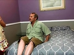 Nasty Stepmom Smashes Ugly Dad And Son At The S