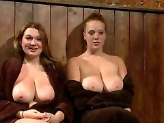Big Breasted Red-haired And Friend Publicly Punished