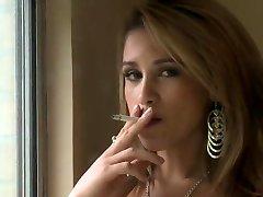 Hailey smoking (JS)