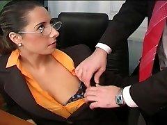 Sumptuous Daria Glower office fuck is fine
