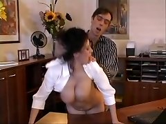 Beatrice busty assistant office sex
