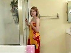 Aubrey Belle in The Shower