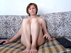 Russian momma great tits and super-cute snatch