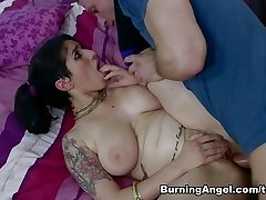 Impressive pornstars Bill Bailey, Arabelle Raphael in Exotic Xxl Ass, Brown-haired adult clip