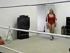 Chubby Milf Ring Wrestling