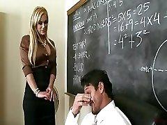 Busty Lecturer Shyla Stylez Provides Tutoring