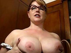 big boob instructor wants it