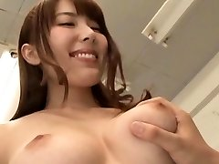 Sexy teacher's bushy cooter getting frigged and toyed hard