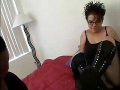 Chubby Goth College Girl