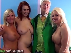 St.Patrick's pornstar sex party! Vol.1