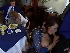 European Cougar Fucky-fucky with Big Tits and Sexy Outfits