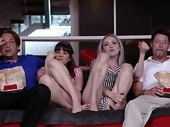 DaughterSwap - Teenagers Tricked Into Fucking Dads Greatest Friend