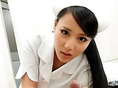 Hot Nurse Ren Azumi Boned By Patient - JapanHDV
