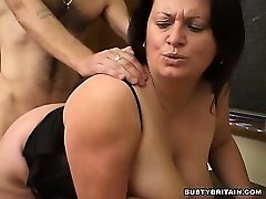 BBW Angel Romped In Classroom