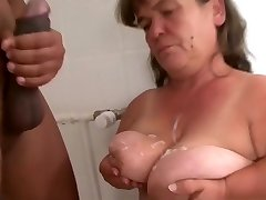 extreme small mature first-ever giant black cock