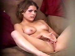 Hidden Stunner Masturbating