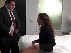 STP1 Chief Fucks His Teen Secretary In Their Hotel Bedroom !