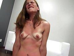 skinny ginger-haired girl