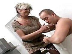 Fantastic older grannie wants him now and wont stop til she gets it