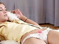 Orgy appeal hot sweetheart kneels