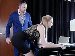 Submissived - Shy Secretary Cunt Destroyed By Chief