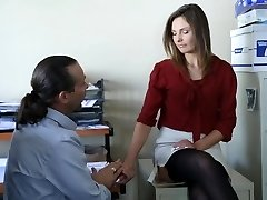 TeensLoveAnal - Lovely Assistant Ass Fucked By her Boss
